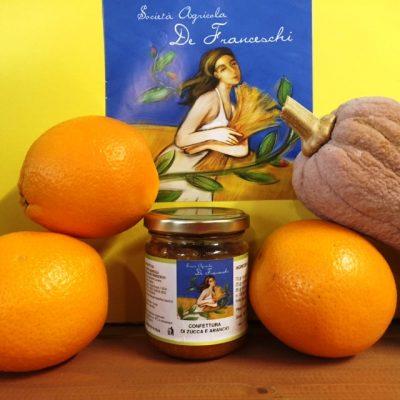 Confettura di zucca e arancio